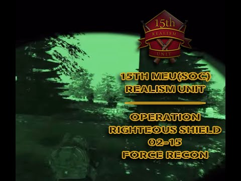 Operation Righteous Shield 02-15 - FORCE RECON