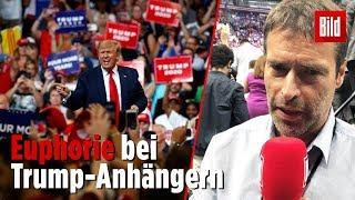Amis feiern Trump bei erstem Wahlkampf-Auftritt