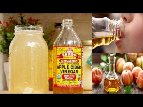 8 Reasons Why You Should Drink 1 TBSP Of Apple Cider Vinegar Every Day