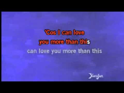 One Direction More Than This Lyrics