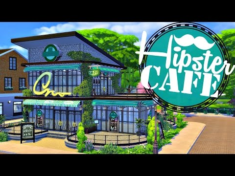 Sims 4 | House Build: Hipster Cafe (HELP ME FURNISH IT!?) #SavetheHipsterCafe