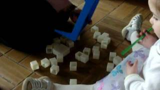 2 Year Old Plays Don't Break The Ice