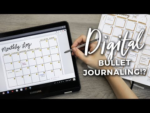 DIGITAL Bullet Journal Setup?! PLAN WITH ME DIGITALLY!