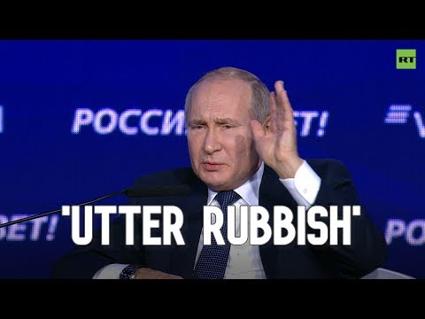 Putin sums up relations between US and its European allies in 50 seconds