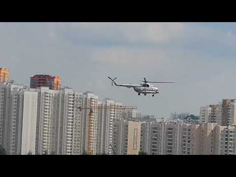 Medical emergency service by Helicopter in Moscow