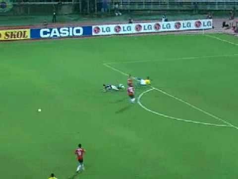 Copa América 2007: Brasil 6x1 Chile