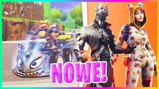 UPDATE 6.1: NEW VEHICLE, NEW SKINS IN THE GAME.. BLACK KNIGHT V2! -Fortnite Battle Royale