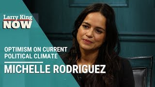 'The Fast and The Furious' Star Michelle Rodriguez: Optimism About Current Political Climate
