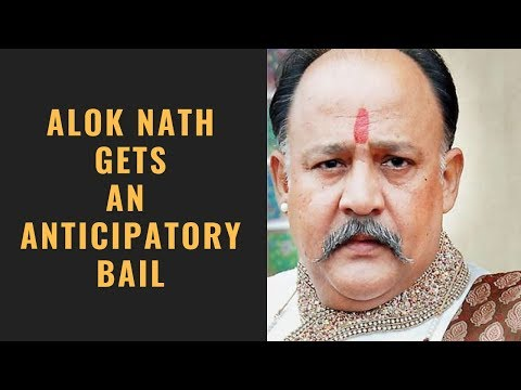 Me Too : Court grants anticipatory bail to Alok Nath in Vinta Nanda's case Mp3