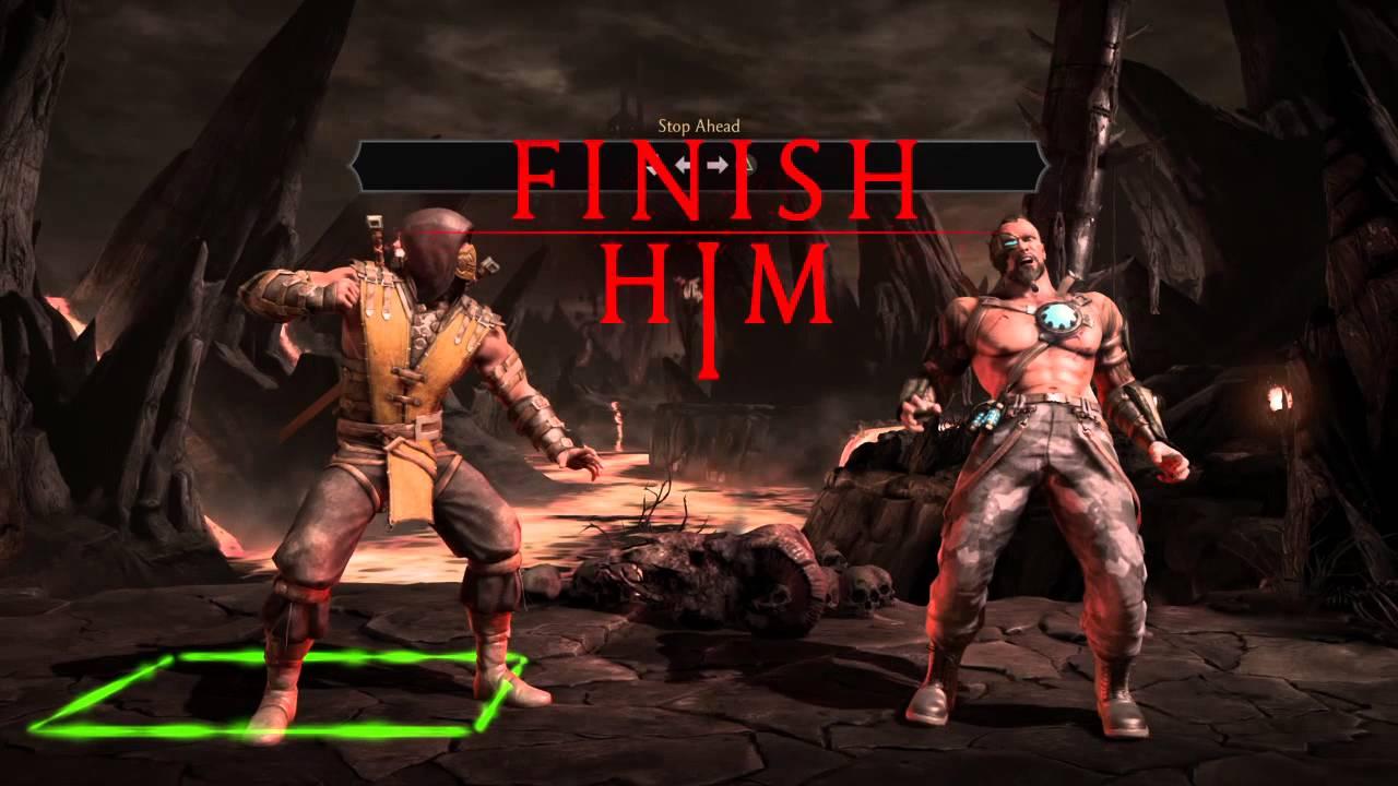 Mortal Kombat Xl Scorpion Fatalities Youtube