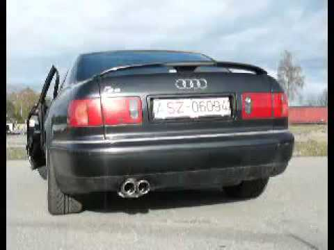 audi a8 s8 d2 fox sportauspuff exhaust by fiese. Black Bedroom Furniture Sets. Home Design Ideas