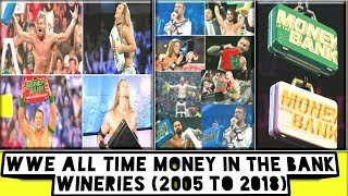 WWE ALL TIME MONEY IN THE BANK WINERIES (2005 To 2018) /World Wrestling Tamil