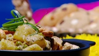 كاري الدجاج بصلصة الكاري الأخضر - ديما حجاوي