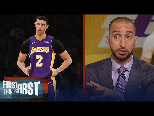Nick Wright on reports Ball camp leaked injury news to stop trade talks   NBA   FIRST THINGS FIRST