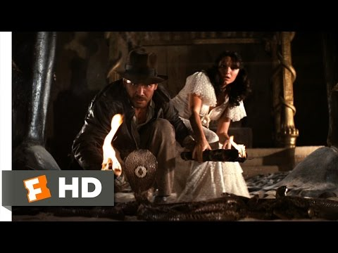 Raiders of the Lost Ark (4/10) Movie CLIP - The Well of Souls (1981) HD