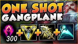ONE Q = ONE KILL?? DARK HARVEST GANGPLANK IS BEYOND BROKEN! GANGPLANK TOP GAMEPLAY League of Legends