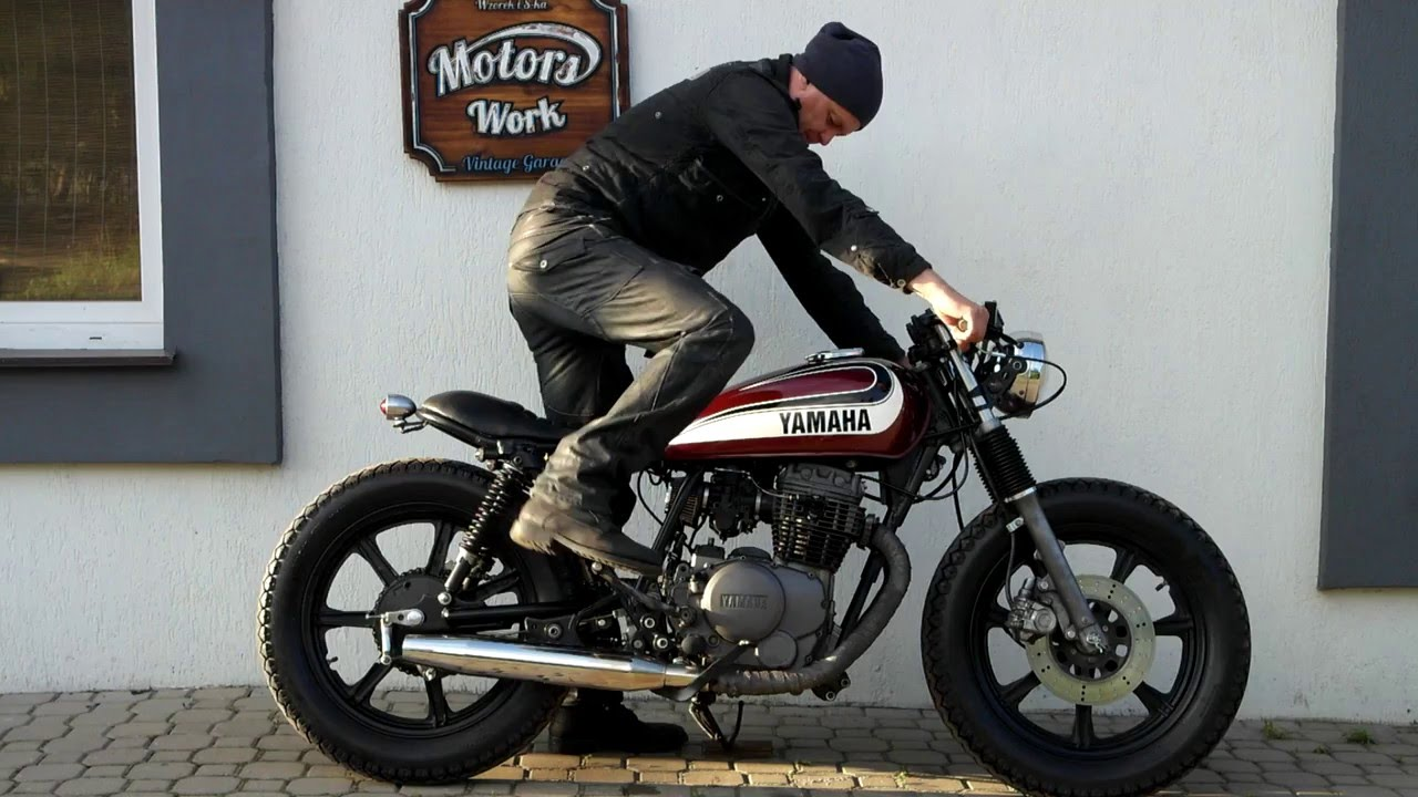 Xs 400 cafe racer hobbiesxstyle for Garage yamaha paris