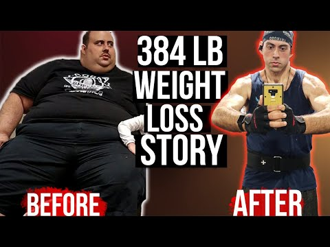 Carlos' MIND BLOWING 384 POUND Weight Loss Story