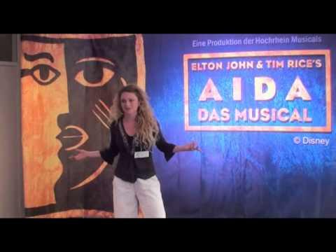 Musical AIDA Casting in Zürich - Gloria-Theater Bad Säckingen