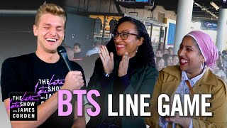 The Late Late Line Game: BTS Edition