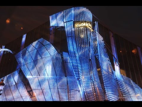 Publicis Groupe headquarter LED facade