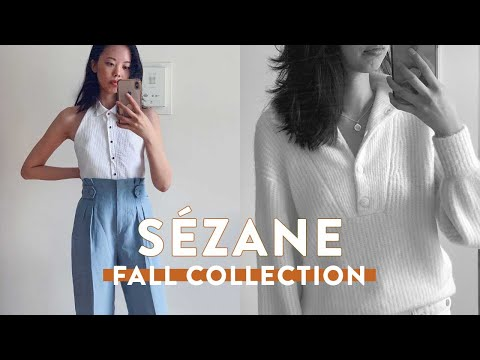 First Time Trying SÈZANE! | FALL COLLECTION 2020 Haul + Review feat Autumn Knits + Fall Outfit Ideas