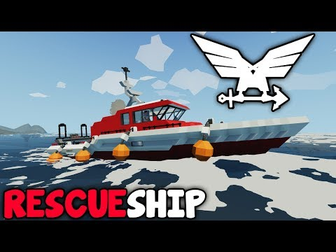 Radar + Winch!  -  Rescue Ship  -  Stormworks: Build and Rescue  - Part 6