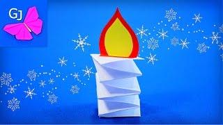 видео Поделки оригами на Новый год своими руками