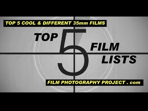 Film Photography Project's TOP 5 Ultra Cool & Different 35mm Films!
