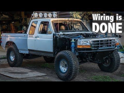 F150 Prerunner Build : WIRING IS DONE!