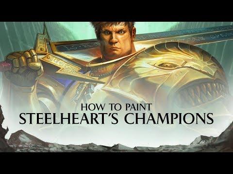 Warhammer Underworlds - Shadespire - How to paint - Steelheart's Champions.