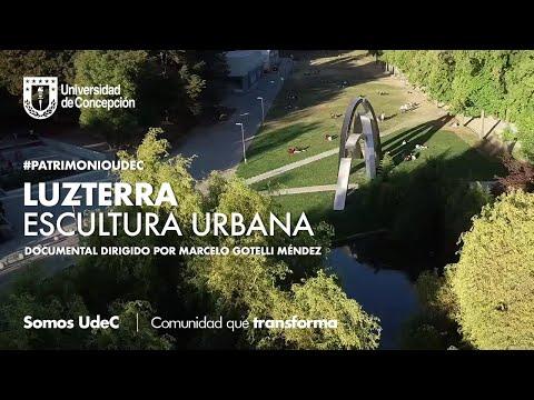 #PatrimonioUdeC: Luzterra: escultura urbana.