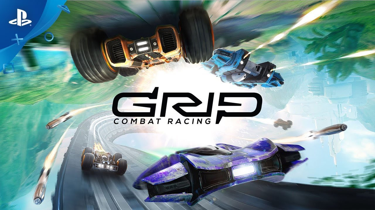 GRIP Combat Racing - Anti-Grav Update Trailer PS4