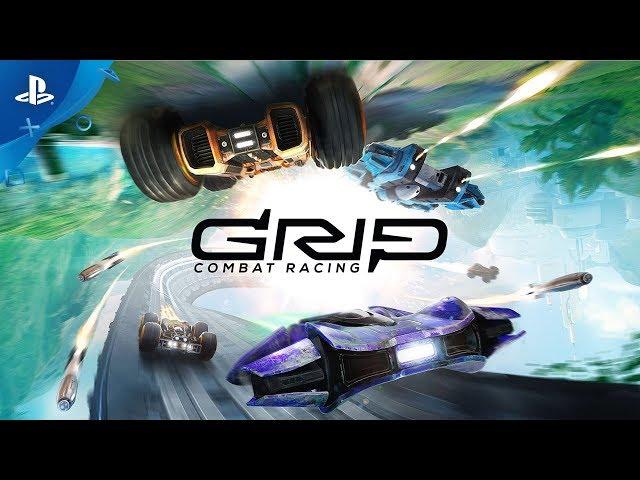 GRIP Combat Racing - Anti-Grav Update Trailer PS4