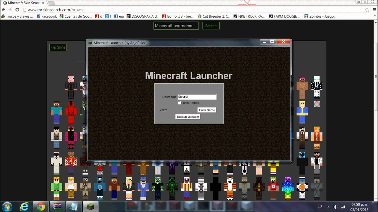 Minecraft Spielen Deutsch Skins Para Minecraft Pe De Skrillex Bild - Skins para minecraft pe de skrillex
