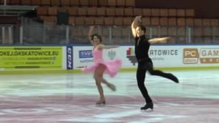 5 Natalia KALISZEK  Maksym SPODYRIEV POL FD ICE DANCE 4NAT 2017