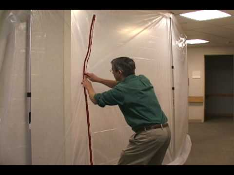 ZipWall® Heavy Duty Zipper How to Make A Dust Barrier Entrance