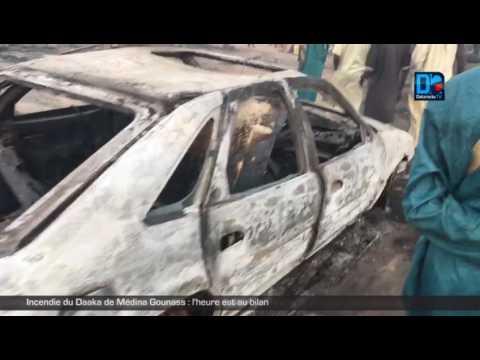 Incendie du Daaka de Médina Gounass :  l'heure est au bilan