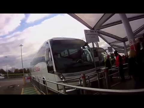 Londra  Stansted spre Cambridge cu National Express