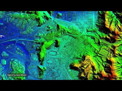 LiDAR surveys – products and example outputs