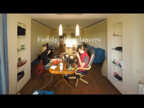 Family of Freelancers - Time-lapse
