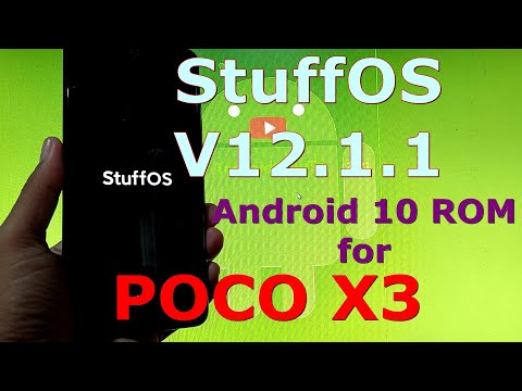 Stuff OS V12.1.1 for POCO X3 NFC Android 10