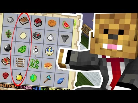2VS2 EPIC MINECRAFT BINGO CHALLENGE - CUSTOM MINIGAME