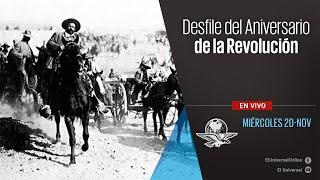 Desfile del Aniversario de la Revolución
