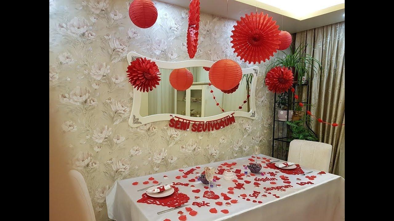 Sevgiliye Hazırlanabilecek Ilginç Sürpriz Hediye Süsleme Parti Dükkanım