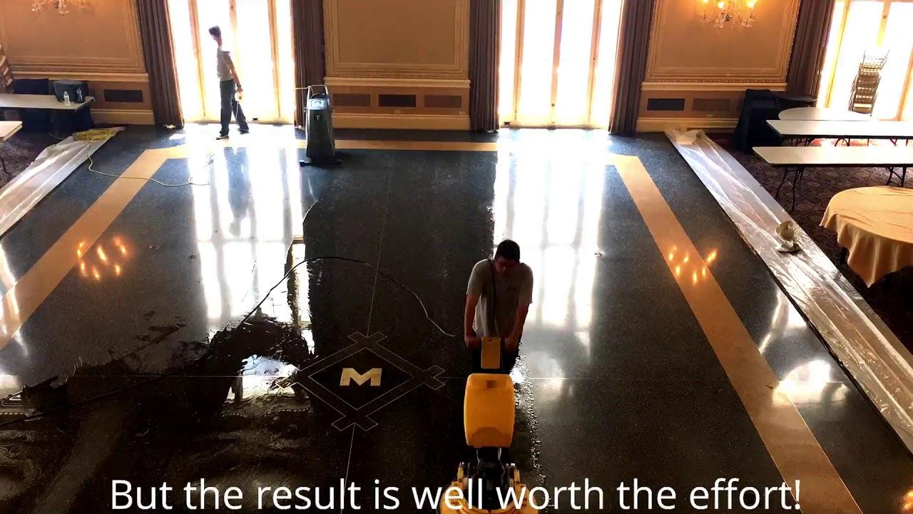 Terrazzo Floor Maintenance Terrazzo Restoration Floor