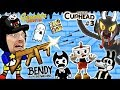Download BENDY & THE INK MACHINE + SCRIBBLENAUTS UNLIMITED + CUPHEAD! FGTEEV Cheats & Beat Entire Game FAST!! in Mp3, Mp4 and 3GP