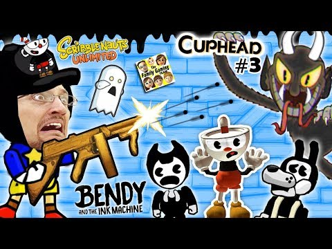 BENDY & THE INK MACHINE + SCRIBBLENAUTS UNLIMITED + CUPHEAD