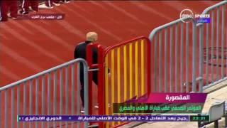 المقصورة - حسام حسن: المصري له ضربة جزاء لم تحتسب وهذا سبب خروجي من الملعب