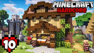 Let's Play Minecraft Hardcore | Village Bakery